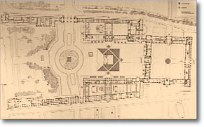 [Plans of the Louvre Museum]